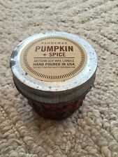 Paddywax Relish Jar Soy Candle Pumpkin + Spice 3 Ounces