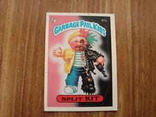 1985 Topps #81A Split Kit Garbage Pail Kids Card