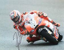 Nicky Hayden signed 10x8 Image D photo UACC Registered Dealer AFTAL RACC Trusted
