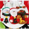 Xmas Christmas Decoration Candy Bags Santa Snowman Wine Stocking Bottle Gift Bag