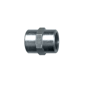 3/8 Female NPT FPT FIP Thread Pipe Coupling Joiner Adapter Steel Fitting