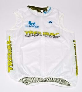 New Men's 2017 Craft Team Novo Nordisk Tresiba EBC Cycling Wind Vest, S