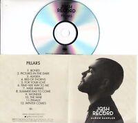 JOSH RECORD Pillars Full Album 2014 UK numbered 12-trk promo test CD