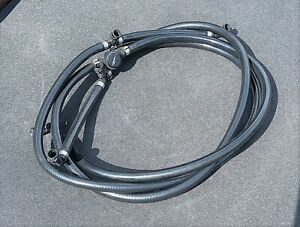 MGZT. Rover 75. Headlamp washer tubing assembly (DNH101440)