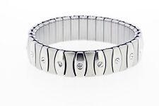 Stretch Surgical Steel Bracelet with Swarovski Stones model 126
