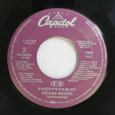 90'S Rap 45 Hammer - Addams Groove / Addams Groove On Capitol