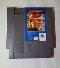 Indiana Jones Temple of Doom Nintendo NES Original Authentic Game!