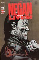 Negan Lives #1 The Walking Dead Special Signed By Charlie Adlard 1st Print