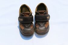 """Startrite Brown Leather """"Creeper"""" Boys Shoes Size 7F UK (Child)"""