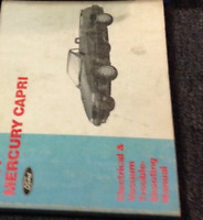 1982 Ford Mustang Mercury Capri Wiring Diagrams Set Ebay