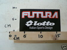 STICKER,DECAL FUTURA LOTTO ITALIAN SPORTS DESIGN NOT 100 % OK