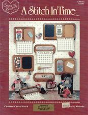 A STITCH IN TIME Calendar Toppers for Counted Cross Stitch Cross My Heart CSB21