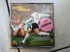 """König Fußball -Super 8mm Film,60 m,color Ton """" Lektion 3 """"Dribbling  """""""