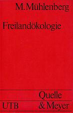 UTB 0595 MÜHLENBERG : FREILANDÖKOLOGIE