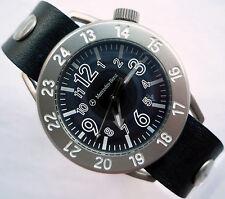 Mercedes Benz Classic Business Sport Military Time Aviator Pilot Design Watch