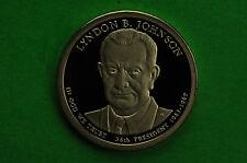 2015-S  GEM  Proof (Lyndon B Johnson)  Deep Cameo  US Presidential One Dollar