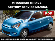 2013 - 2015 MITSUBISHI MIRAGE FACTORY ELECTRICAL SERVICE REPAIR WORKSHOP MANUAL