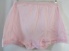 LOT 3 COTTON BLOOMERS BOXERS WOMEN PANTIES 1-PINK,2 GREEN ONLY COTTON CROTCH 5