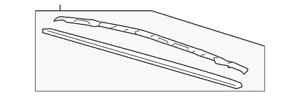 Genuine GM Wiper Blade 95430139