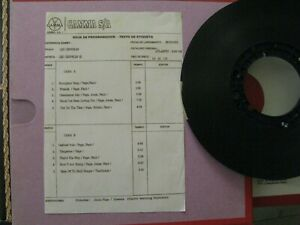 REEL TO REEL TAPE Led Zeppelin 2TR FIRST GEN. MASTER TAPE