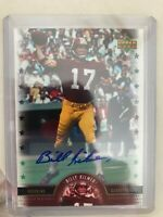 2005 UPPER DECK LEGENDS BILLY KILMER LEGENDARY SIGNATURES AUTOGRAPH REDSKINS