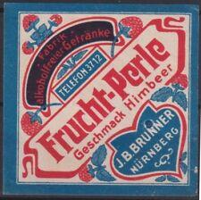 F-Ex14482 Germany Cinderella 53x53mm Poster Frucht Perle J.B. Brunner