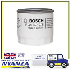 Filtre à huile BOCH F026407078 FORD MAZDA VOLVO