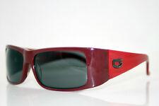 GUESS Womens Designer Sunglasses Red Rectangle GU 6213 RD-3 8619