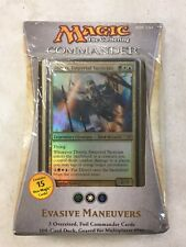 Magic The Gathering 2013 Commander Deck Evasive Maneuvers For Card Game MTG