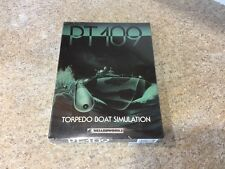 "New SEALED PT-109 Torpedo Boat Simulation 1992 Wizardworks 3.5"" Disk Video Game"
