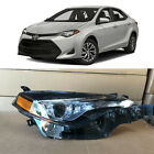 Headlight Replacement for 2017 2018 2019 Toyota Corolla LE XLE Right Passenger