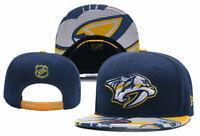 Nashville Predators NHL Hockey Embroidered Hat Snapback Adjustable Cap
