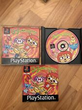 Very Rare Um Jammer Lammy PlayStation 1 PS1 Game Case Manual Tested UK