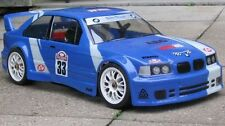 1/10 Scale BMW M3 rc car body clear 190mm associated losi traxxas kyosho 0020