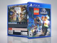 Lego Jurassic World - PS4 - Replacement - Cover/Case - NO Game