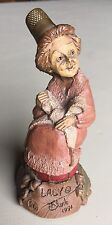 1991 Tom Clark Gnomes - Thimble Family - Lacy Figurine - 1991 - Cairn Studio