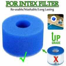 (5pièces)Filtre-mousse-reutilisable-lavable-pour spa-Intex-S1