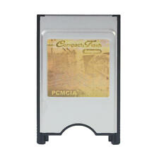Compact Flash CF to PC Card PCMCIA Adapter Cards Reader for Laptop Notebook