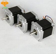 3PCS Nema34HST9805-37B2 stepper motor 878oz.in=7.0N.m 2A  8Leads 98mm CNC LONGS