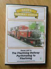 Ffestiniog Railway Porthmadog to Ffestiniog (DVDR2) 60mns