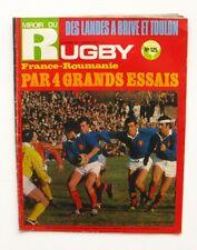Miroir du Rugby n°125 - 1971 - France Roumanie - Brive - Dacquois - Camberabero