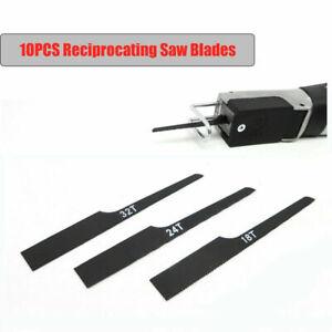 10x Air Body Saw Reciprocating Air Cut-off Carbon Steel Hacksaw Blades 18/24/32T