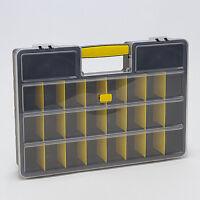 TOOL ORGANISER PLASTIC STORAGE BOX SCREWS BEADS TACKLE NAILS HOBBY