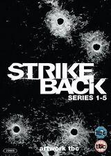 Strike Back Complete Collection Season 1 2 3 4 5 Series 1-5 Legacy DVD Reg2