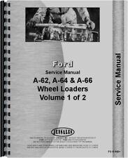Ford A62 A64 A66 Wheel Loader Service Repair Manual