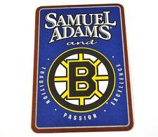 samuel adams Boston Bruins EE.UU. CERVEZA BIER posavasos de cerveza Base Coaster