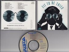 FIT TO BE TRIED ARISTA USA 1988 PROMO CD The Church Jeff Healey Patti Smith