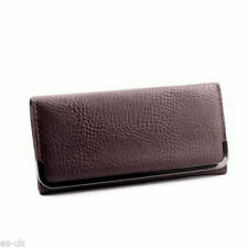 Porte-monnaie et portefeuilles marrons en synthétique pour femme
