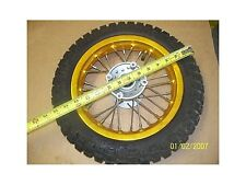 Marshin Wheel Tire 2.50-10 & Rim ZX1.60x10 Front Orange