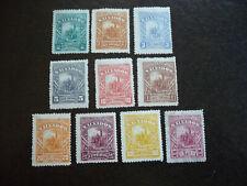 Stamps - El Salvador - Scott# 60-69